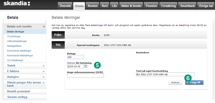 skandiabanken.se logga in