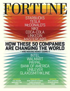 Fortune's Change the World list 2016